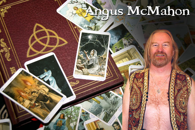 Angus McMahon Tarot Readings at the Serpent's Kiss