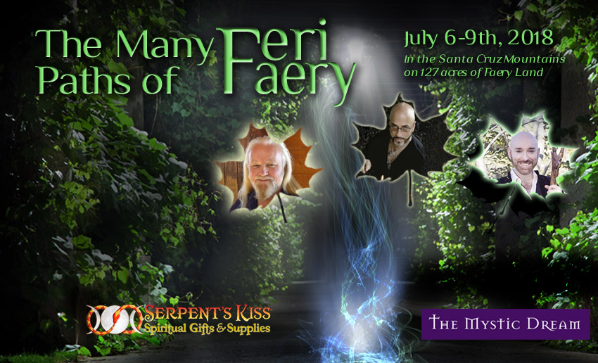 The Many Paths of Faery with RJ Stewart, Orion Foxwood and Storm Faerywolf