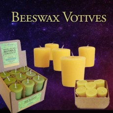 Beeswax Votives - Scented and Unscented
