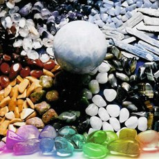 Polished Crystals and Gem Stones