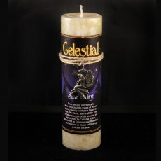 Celestial Star Fairy Candle with Pendant