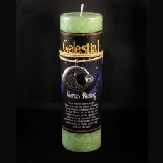 Celestial Venus Rising Candle with Pendant