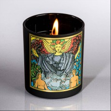 The Lovers Soy Tarot Candle