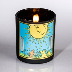 Moon Soy Tarot Candle