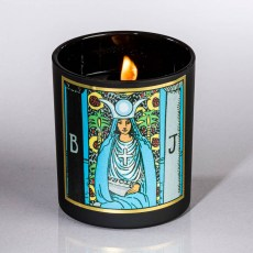 High Priestess Soy Tarot Candle