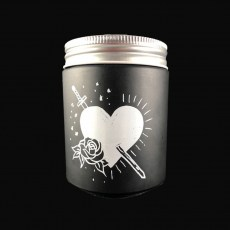 Tattoo Soy Candle - Heart