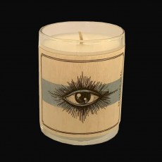 Wood-wrap Scented Votive - DESERT EYE