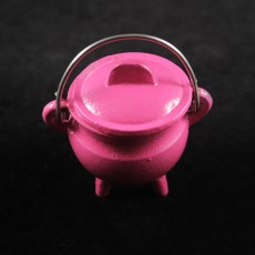Pink Cauldron - Small