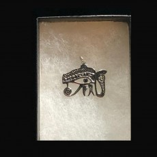 Charm - Silver Eye of Horus