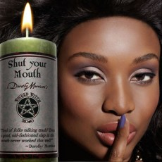 Shut Your Mouth - Wicked witch Mojo Candle