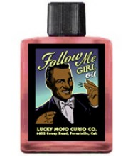 Follow Me Girl Hoo Doo Oil