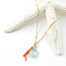 Angel By The Sea Necklace