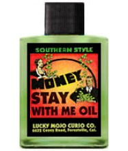 Money Stay With Me Hoodoo Oil
