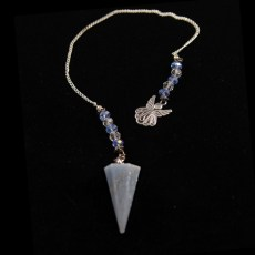 Pendulum - Angelite with Charm