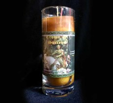 Crown of Success Spell Candle Pillar