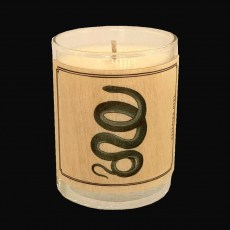 Wood-wrap Scented Candle Snake