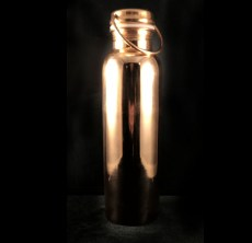 Copper Water Bottle Smooth